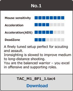 株式会社 HORI   TAC PRO Download-and-play Profile Setups